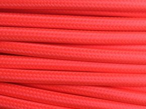 kabel 3 x 0,75mm svítivě červený