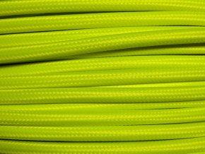 kabel 3 x 0,75mm svítivě zelený