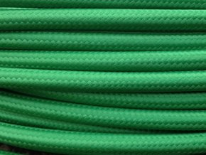 kabel 3 x 0,75mm tmavě zelený