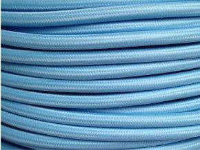 kabel 3 x 0,75mm světle modrý
