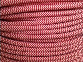kabel 3 x 0,75mm červeno bílý CIKCAK
