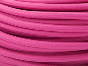 kabel růžovofialový 2 x 0,75mm