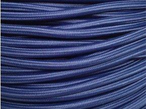 Kabel tmavě modrý 2 x 0,75mm