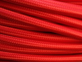 Kabel červený 2 x 0,75mm