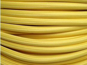 Kabel světle žlutý 2 x 0,75mm