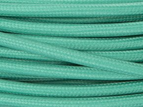 Textilní kabel 3 x 0,75mm Lightseagreen