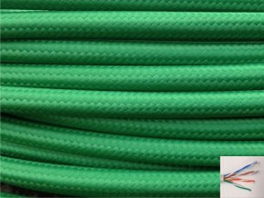 UTP internetový kabel zelený