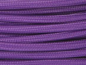 kabel fialový 2 x 0,75mm