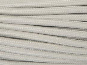 kabel světle šedý 2 x 0,75mm