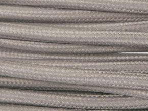 kabel tmavě šedý 2 x 0,75mm