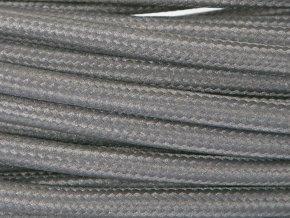 kabel černošedý 2 x 0,75mm