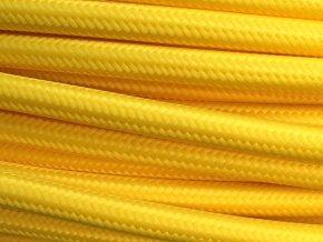 Kabel žlutý 2 x 0,75mm