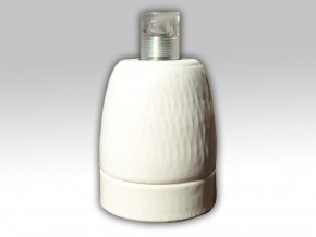 Keramická objímka bílá