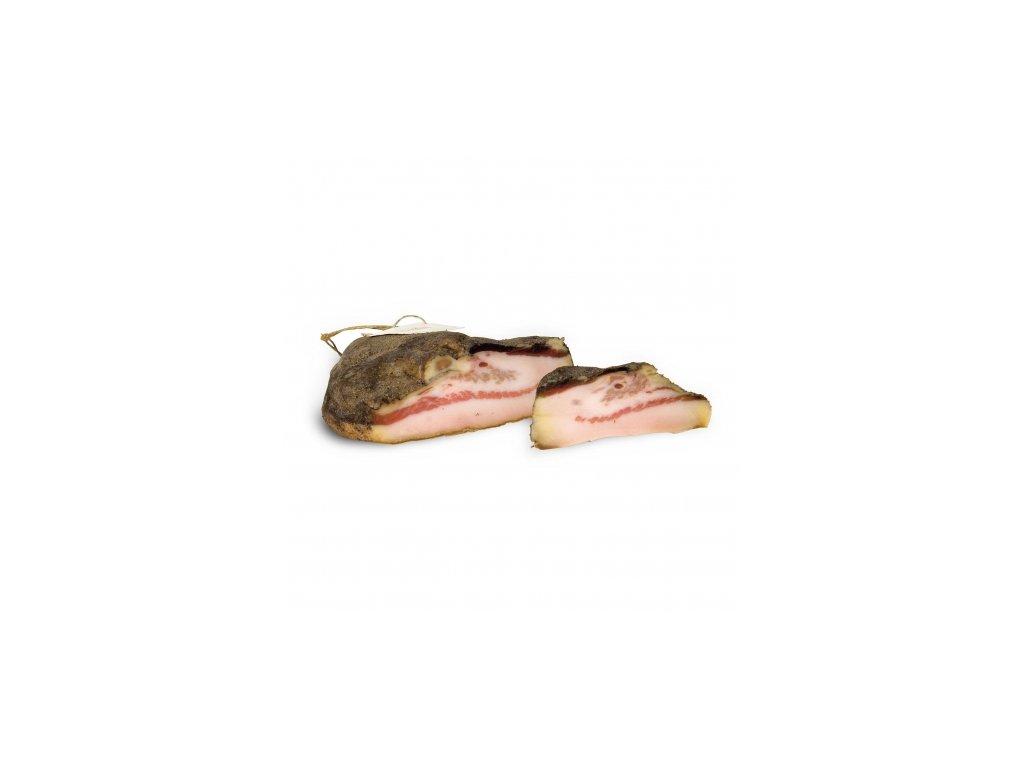 guanciale al pepe 600 gr la bottega del re norcino