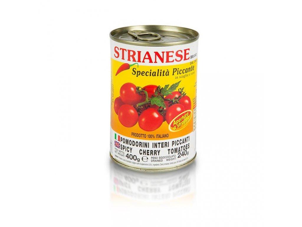 pikantní cherry rajčátka 400g strianese