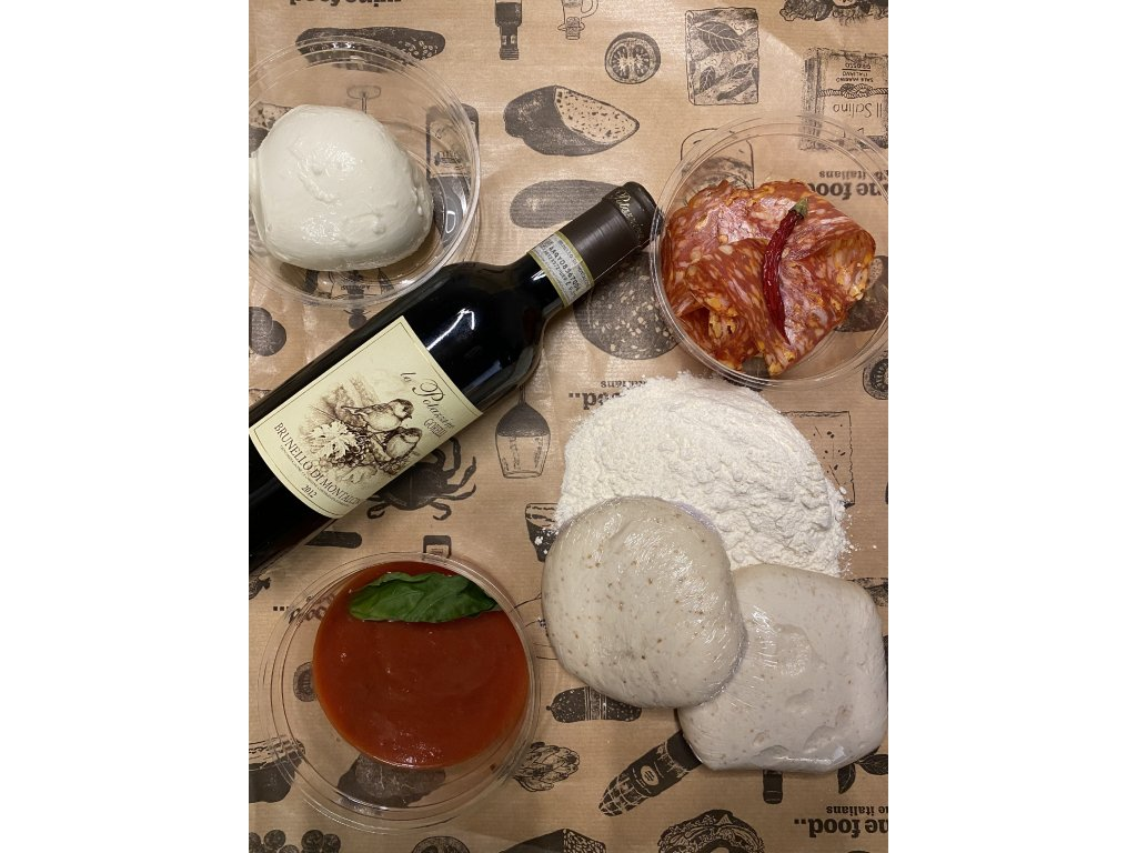 Pizza kit Calabrese