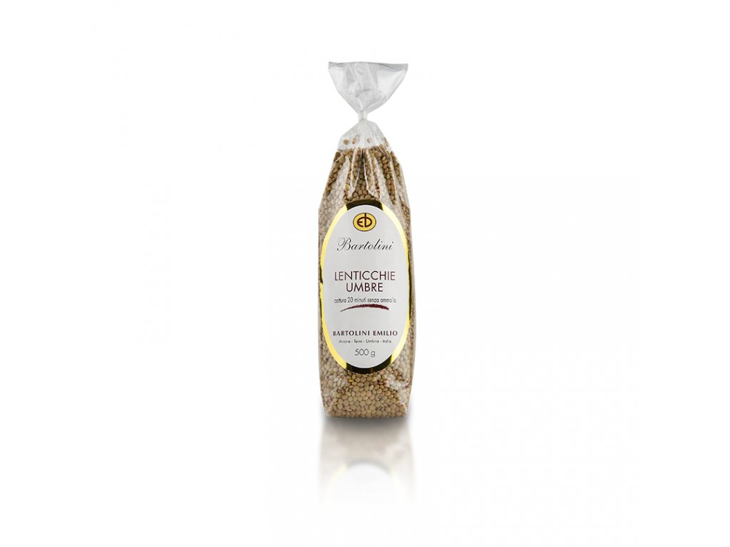 Lentils from Umbria Bartolini 500g
