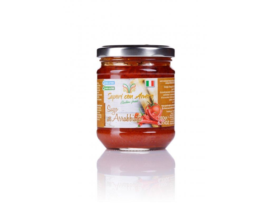 Sapori con amore Arrabbiata sauce Gluten Free 180g