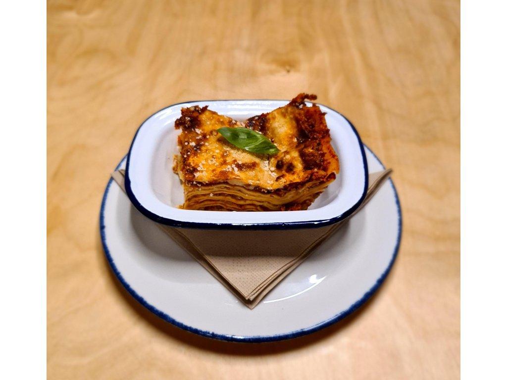 Fresh Homemade Lasagna (1 serving)