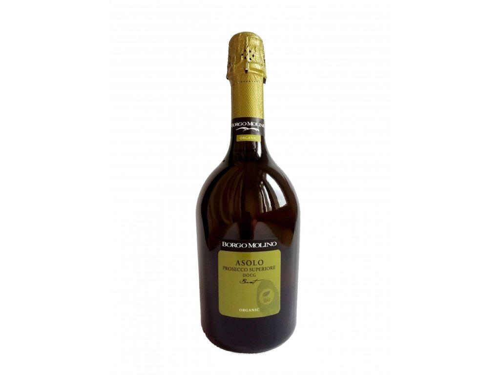 Prosecco Superiore DOCG Asolo Brut Borgo Molino Bio bílá