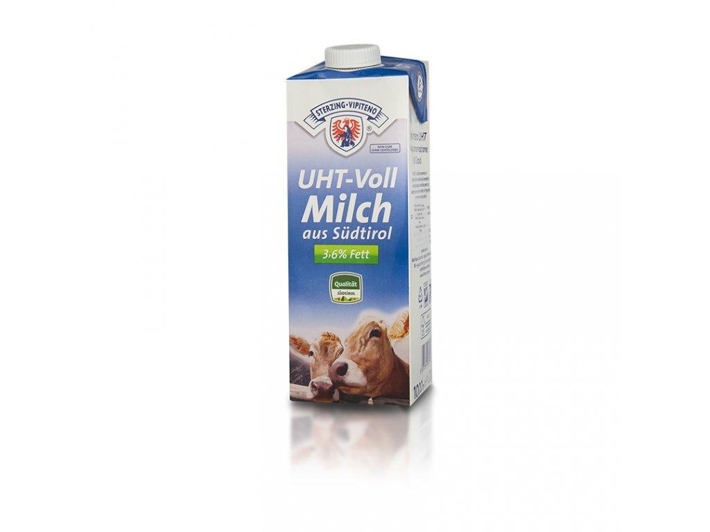 Plnotučné mléko 3,6% UHT 1l Vipiteno