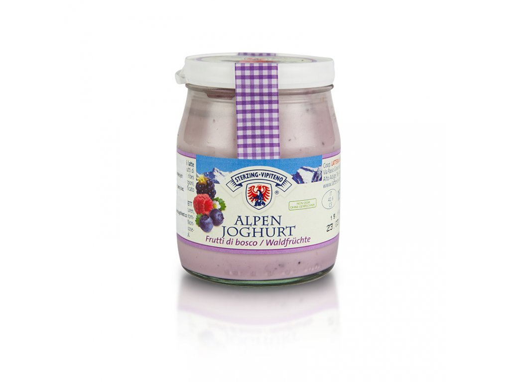 Jogurt s lesními plody 150g Vipiteno