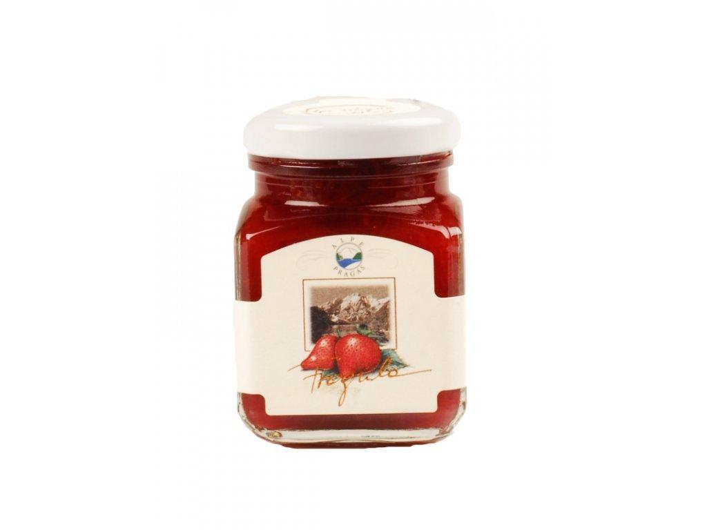 Extra džem jahodový 335g Alpe Pragas