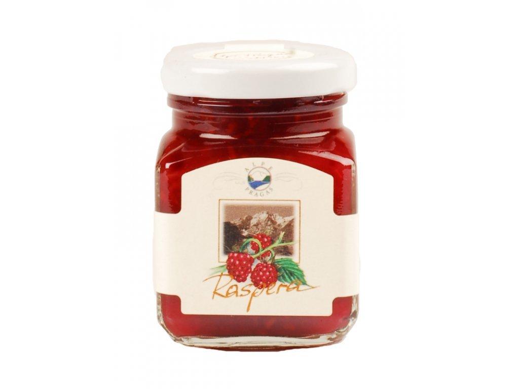Extra džem malinový 335g Alpe Pragas