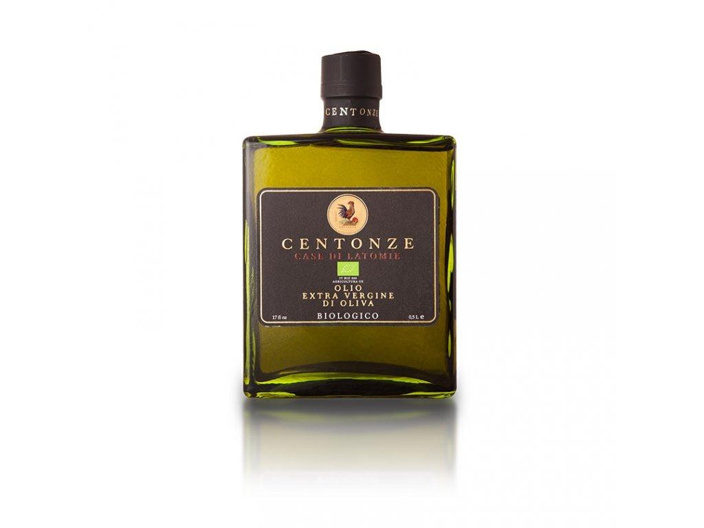 Olivový olej e.v. 100% Siciliano Biologico hranatá láhev 500ml Centonze