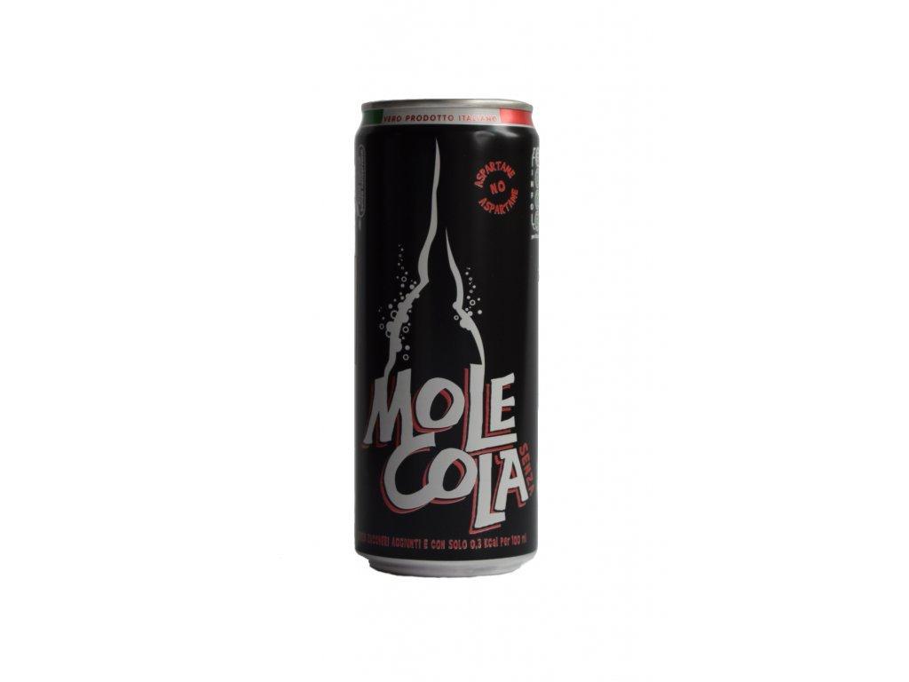 MoleCola bez cukru plech 0,33l