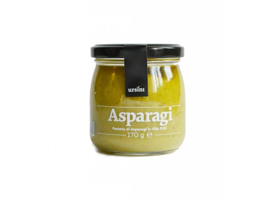 Pesto z chřestu v extra panenském oliv.oleji 170g Ursini