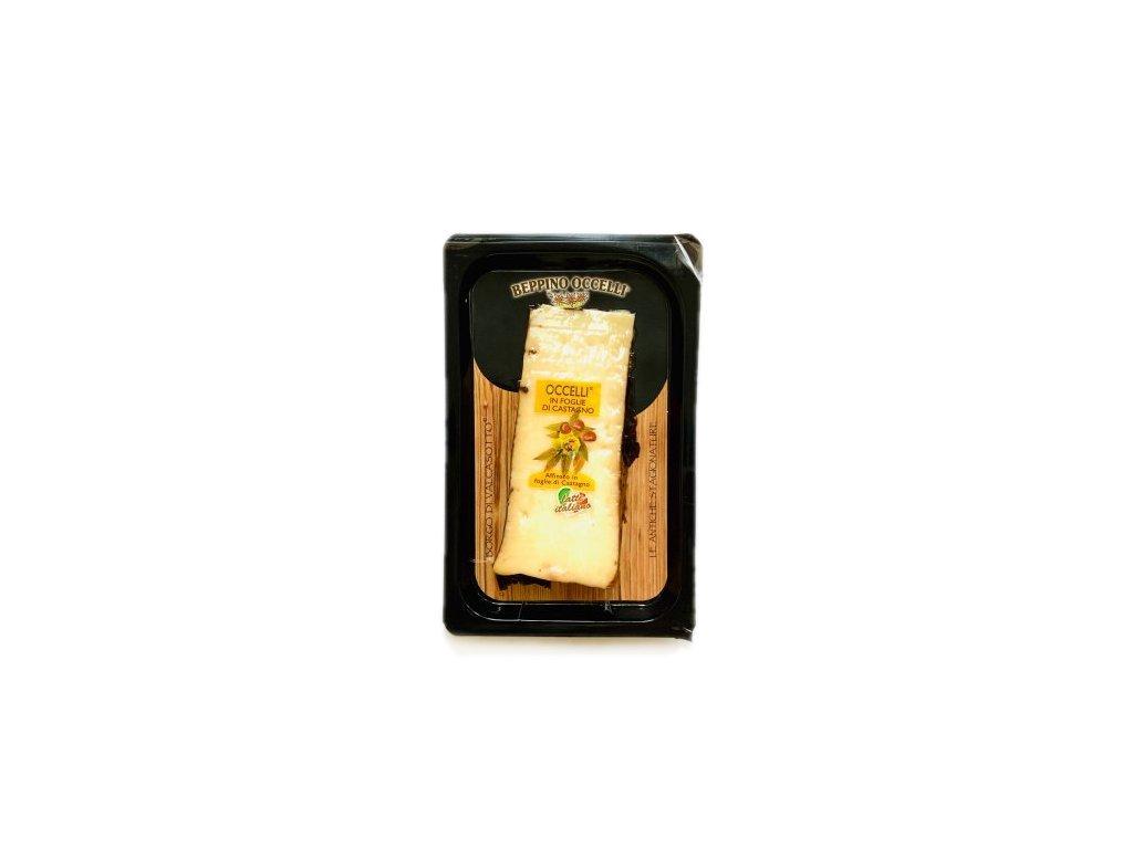 Occelli v kaštanových listech Beppino Occelli 140g
