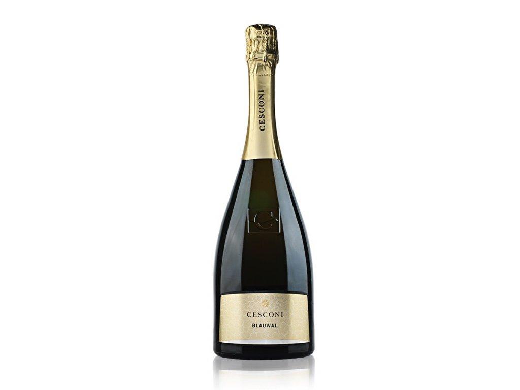 Šumivé víno Blauwal Trento DOC Extra Brut Cesconi