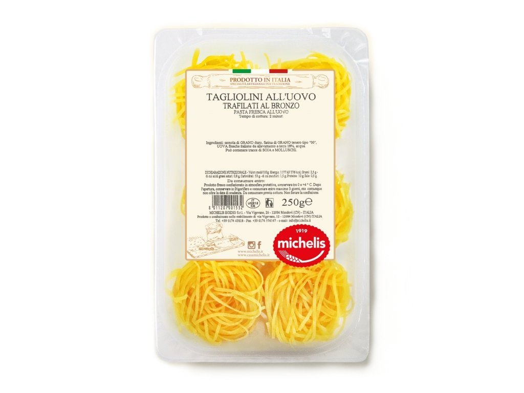 Tagliolini vaječné čerstvé 250g Michelis