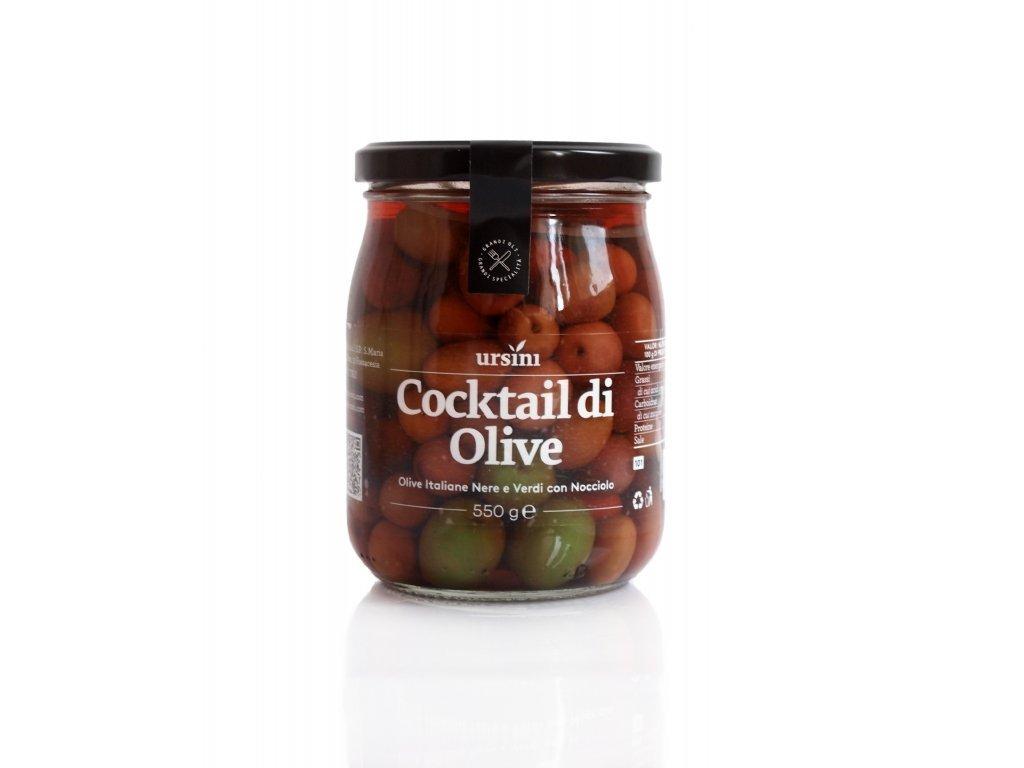 Koktejl z oliv 550g Ursini