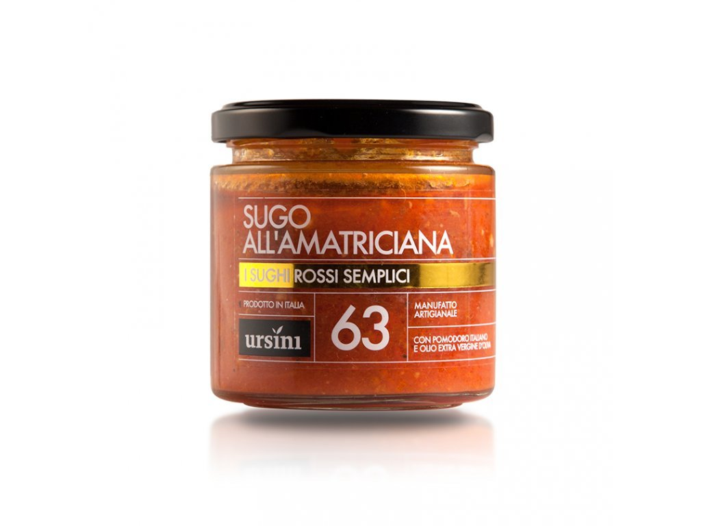 Sugo all'Amatriciana 260g Ursini