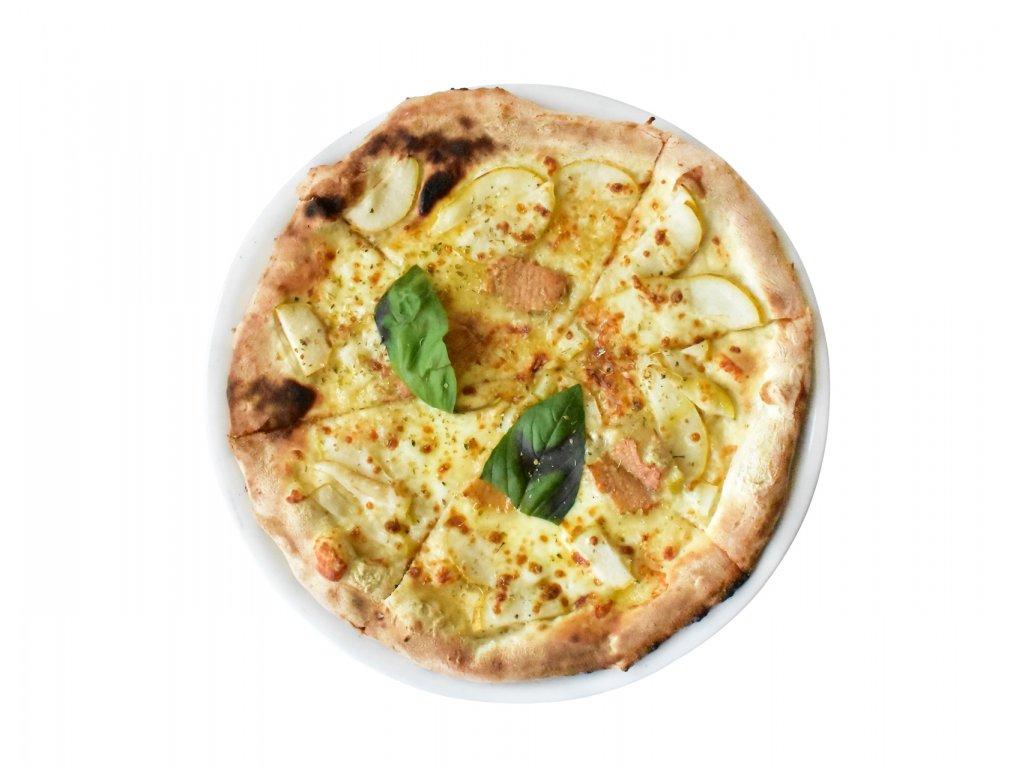 pizza gorgonzola e pere ořez 2