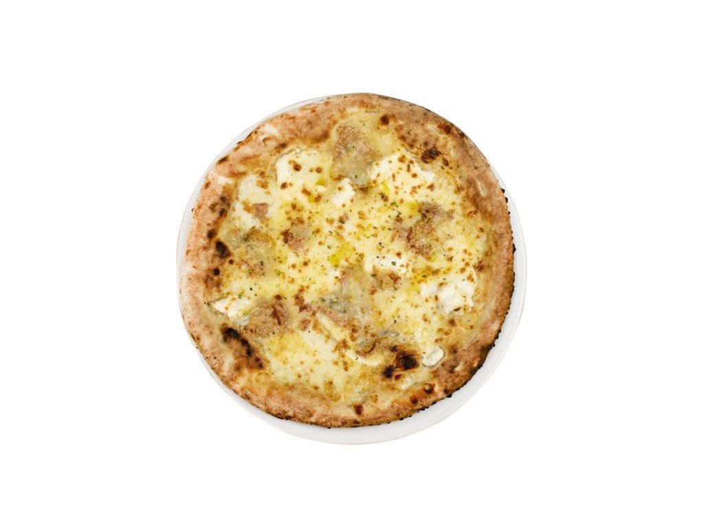 366 pizza sollo formaggi e rucola ořez