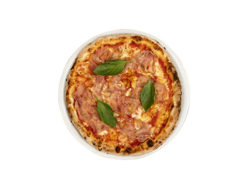 420 pizza con prosciutto cotto ořez