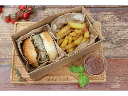 Burger di Vitello con avocado e formaggio Piave