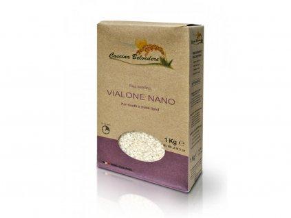rýže Vialone Nano 1kg Cascina Belvedere