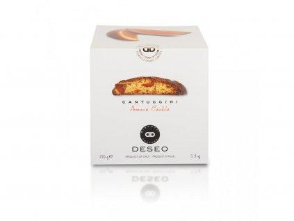 Sušenky cantuccini s kandovaným pomerančem 200g Mattei
