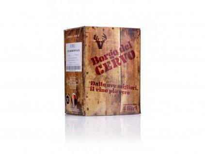 Chardonnay IGT bag in box 5l Borgo del Cervo