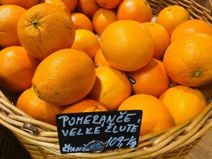 Pomeranče velké žluté