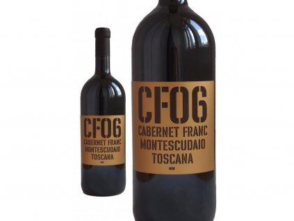 Cabernet Franc Montescudaio Magnum 1,5l, Toscana