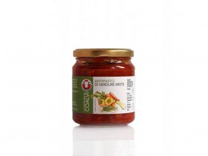 Antipasto mix zeleniny 280g Coalvi