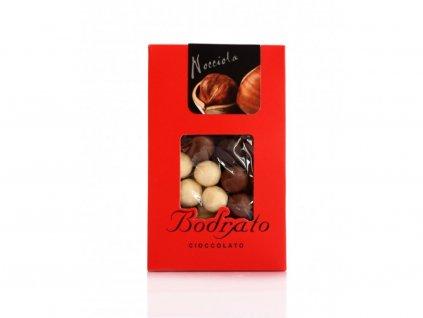Lískové oříšky v čokoládě 150g Bodrato