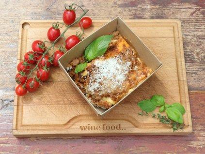 lasagne ořez