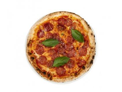 411 pizza con salame piccante negrini ořez