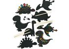 Scratch Art Dinosaur Magnets EV254 21